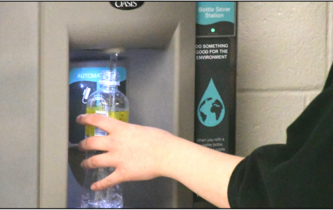 Water bottle refill stations were installed in the months leading up to winter break. The stations are one of several upgrades the administration says it hopes will makes students happier to be at Boone.