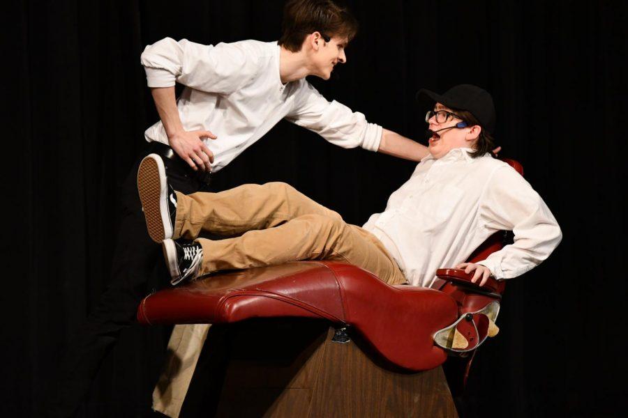 Junior Bryce Herzner and Senior Dan Compton
