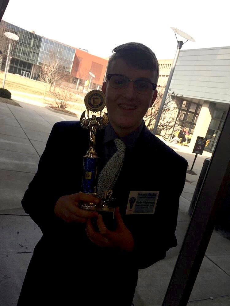 Cole Waymeyer First in journalism
