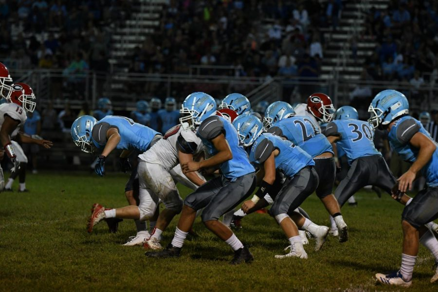 Gallery: Football vs Holmes on Aug 23.