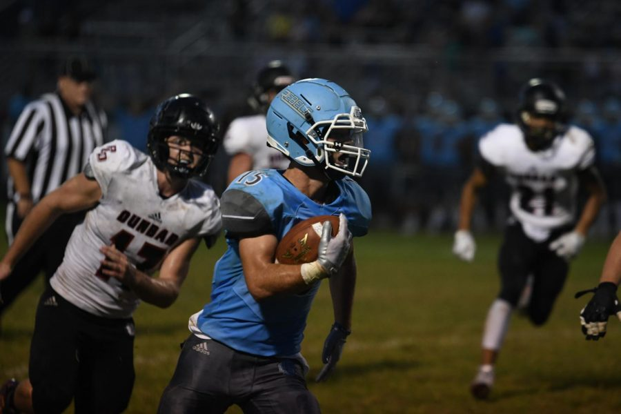 Gallery: Football vs Dunbar on Aug. 30