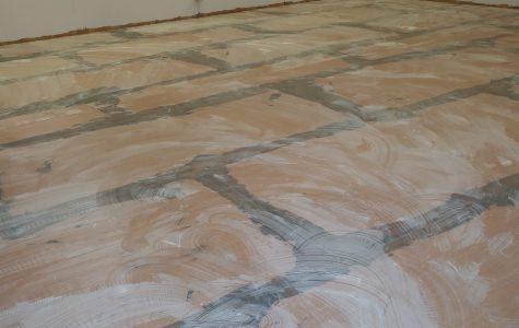 Rotting floors prompt trailer repair
