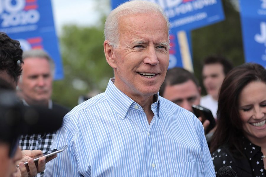 President Joe Biden, pictured in Iowa in August of 2019.