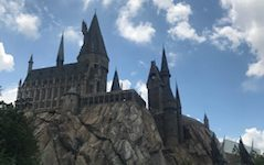"""Hogwarts School of Witchcraft and Wizardry houses the ride """"Harry Potter and the Forbidden Journey"""" at Universal Studios in Orlando."""