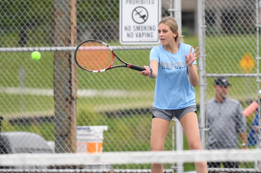 Gallery: Girls Tennis at Scott High on May 6