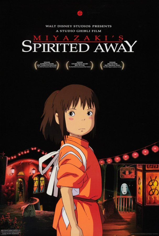 Spirited Away, released to the U.S. on Aug. 31, 2002, won Best Animated Feature Film at the 2003 Oscars.
